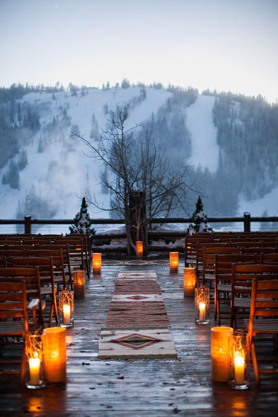 Mountain Top Ceremony - via Pinterest