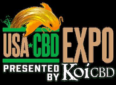 USA CBD Expo 2019 and Koi CBD Logo