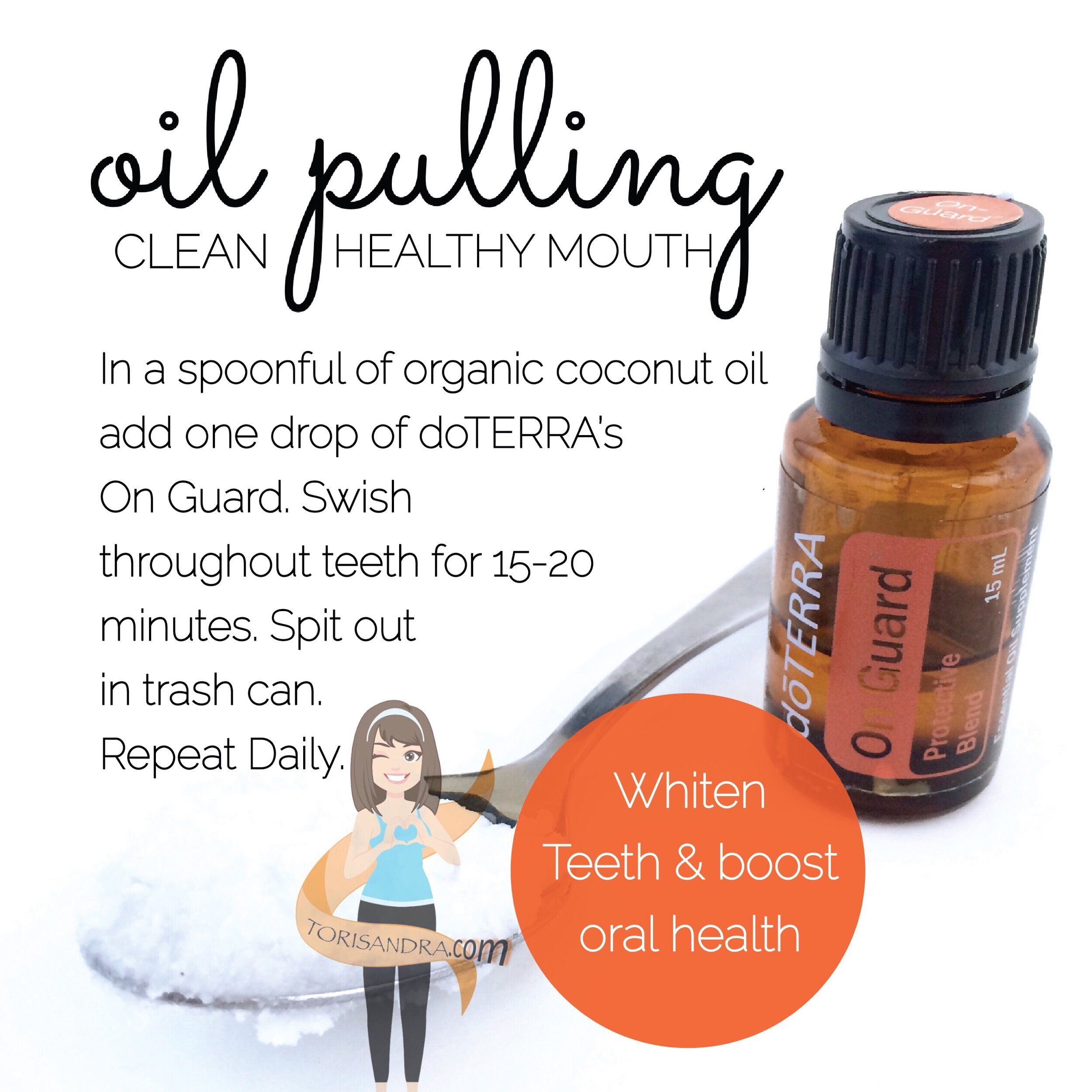 All you need in one place - All the tools you need to experience oil pulling yourself