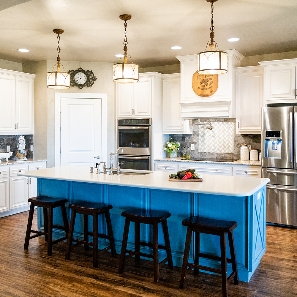 KITCHEN REMODELS - Whether you need a kitchen update or a full-scale remodel, we can work with your vision and your budget.