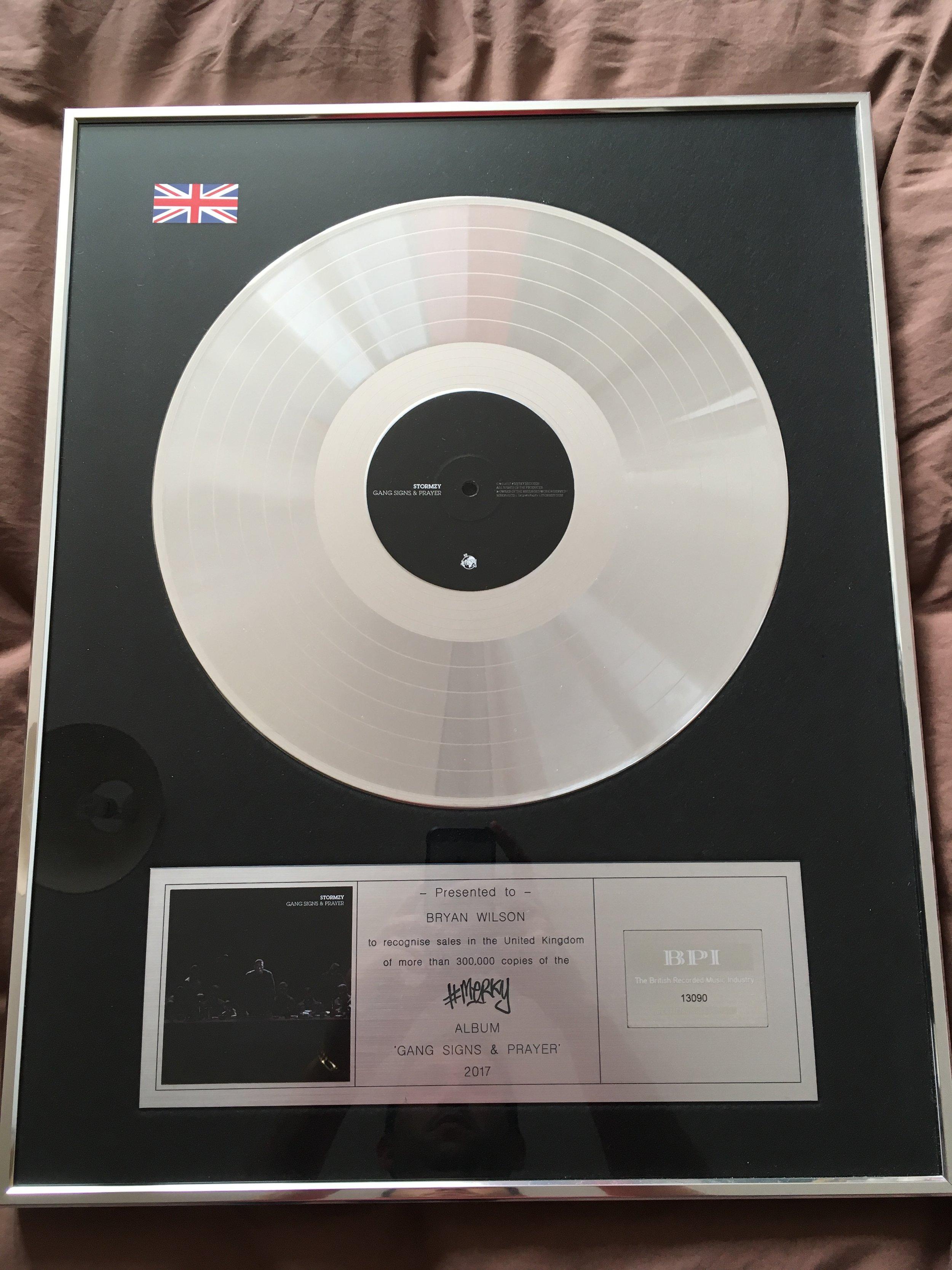 Platinum Certification