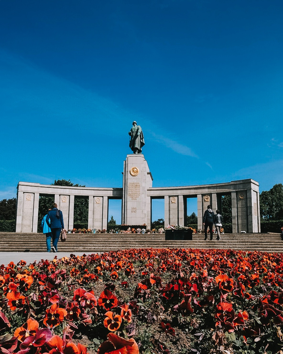 Memorial for Soviet Soldiers