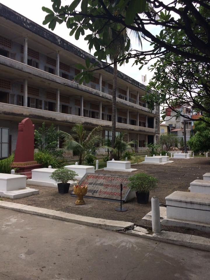 Tuol Sleng, 2017.