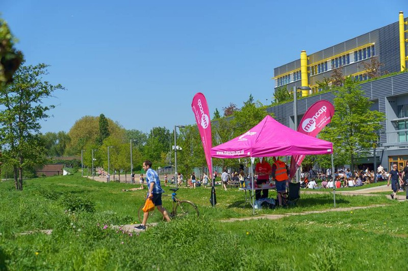 The third and final checkpoint. (Credit:  Mencap )
