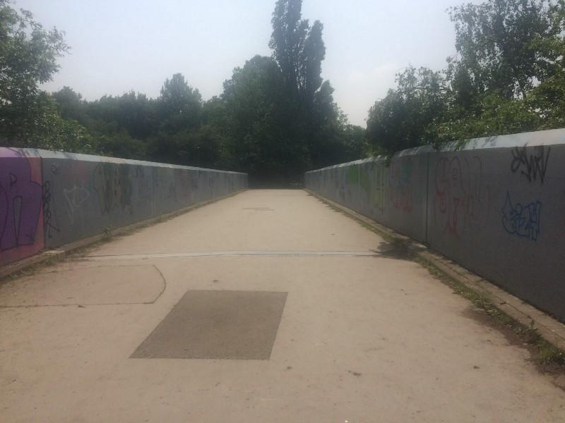 Bridge of size.
