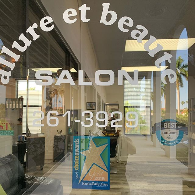 Back to work and ready to rock 🤘 #alluresalonnaplesfl #funisover #backtowork #lovemyclients