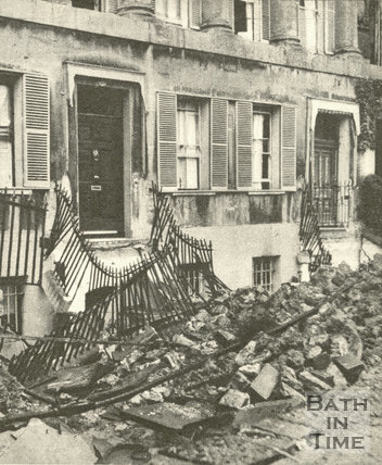 ©Bath In Time  No.17 after the Blitz, April 1942.