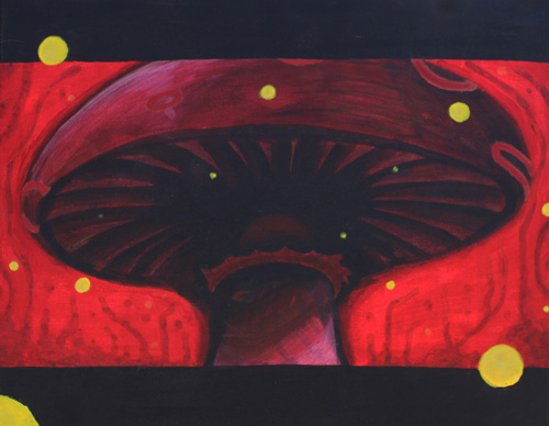 Heresy.  2011 [Acrylic on canvas].