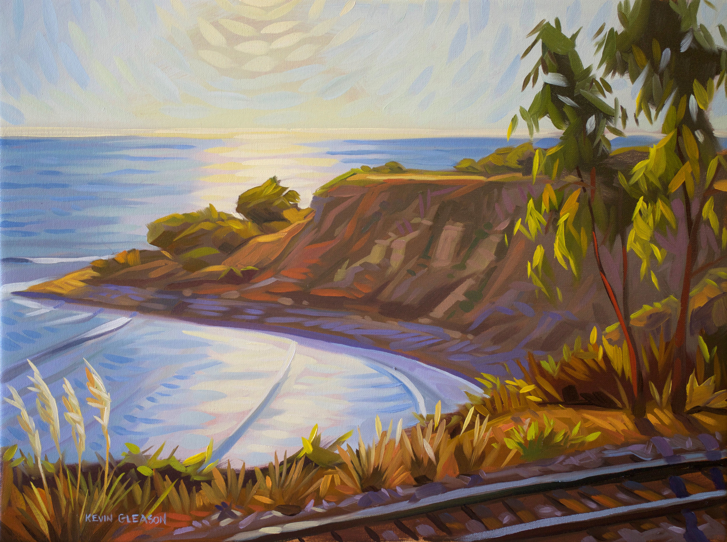 El Capitan Cove, oil, Kevin Gleason