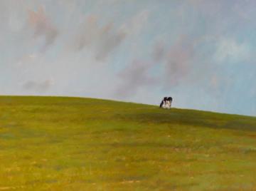The Tao of the Cow, oil, Arturo Tello