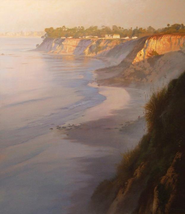 Mist at Mesa, oil, Richard Schloss
