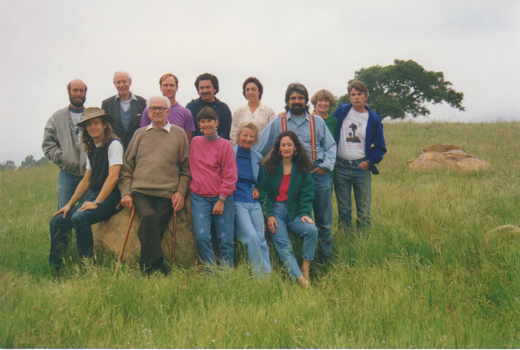 Oak Group Portrait in the Cow Fields, photo, Wm. B. Dewey