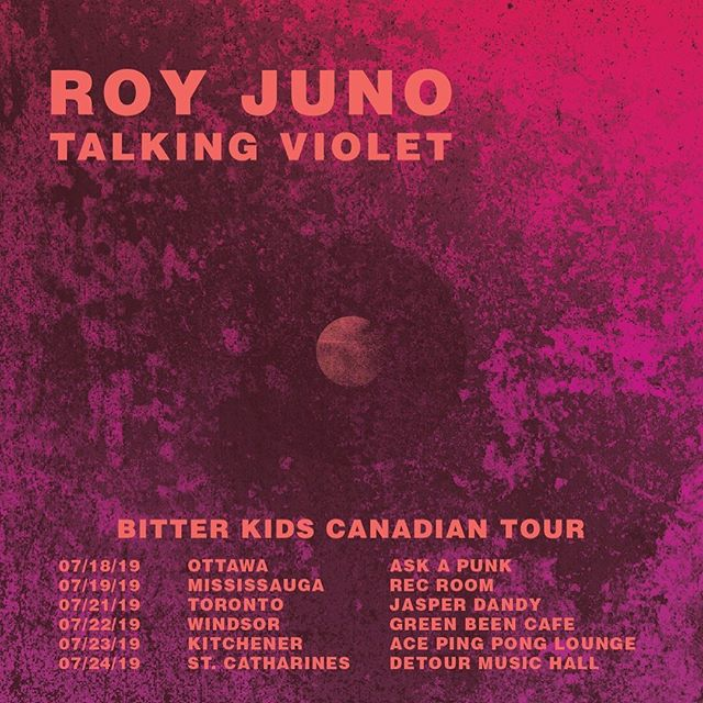 the Bitter Kids Canadian tour w/ @talkingviolet kicks off next week in Ottawa  see you soon —— 𝖋𝖔𝖔𝖑𝖘 (𝙗𝙞𝙩𝙩𝙚𝙧 𝙠𝙞𝙙𝙨) • available worldwide on 7.19.19