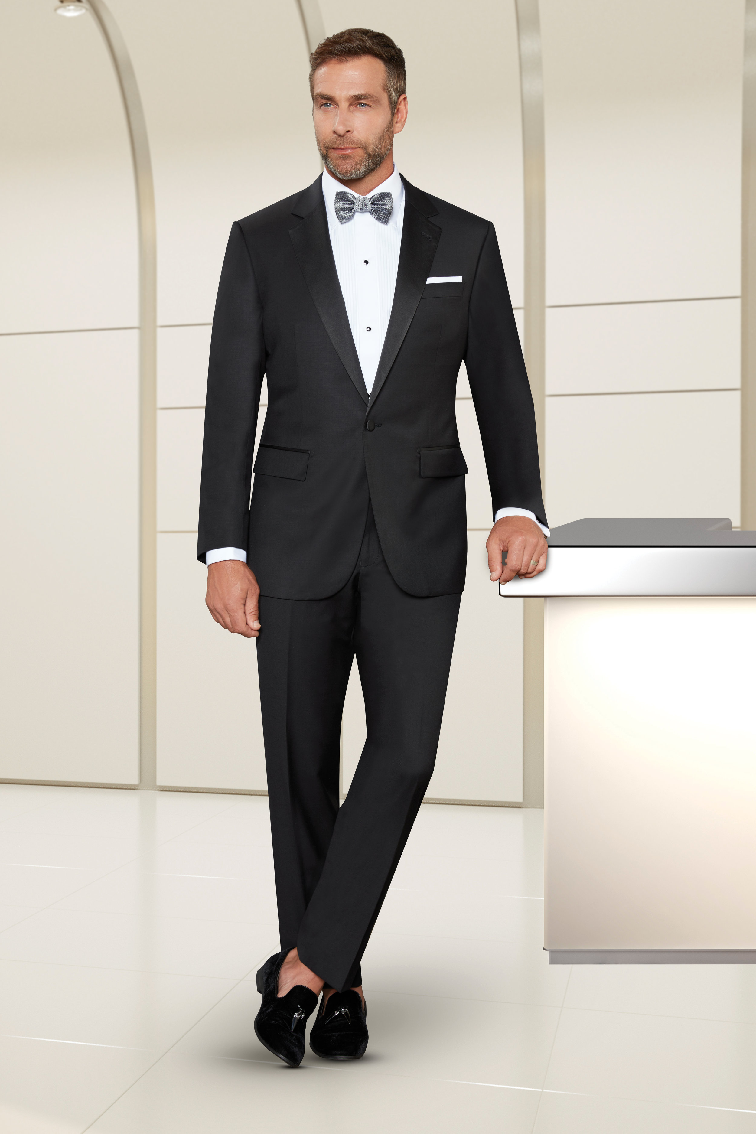 BA TUXEDO - 1-BUTTON NOTCH LAPEL