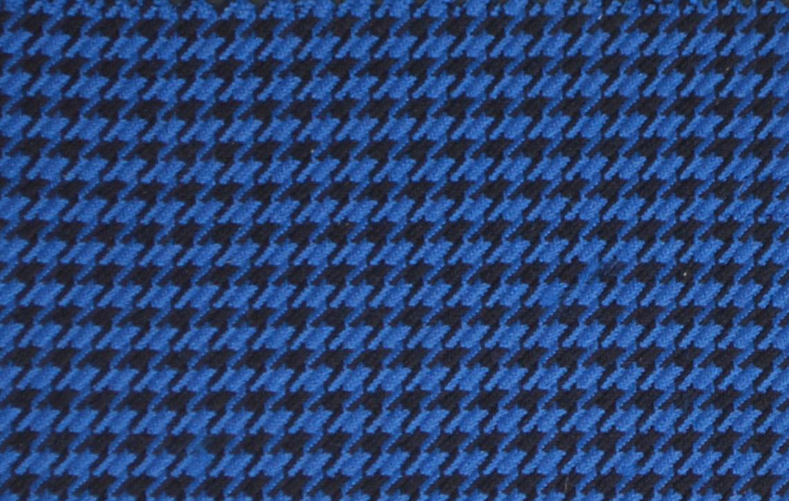 BA 0142 BLUE HOUNDSTOOTH