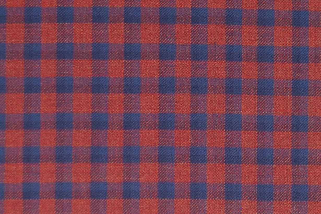 MD 3866 RED/BLUE CHECK
