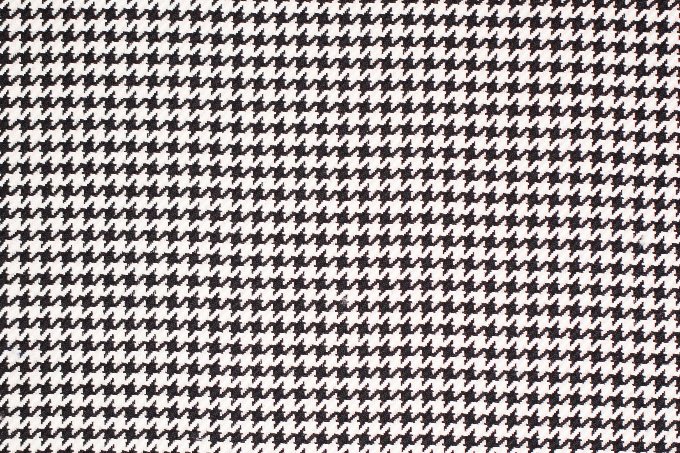 BA 449/23 BLACK/WHITE HOUNDSTOOTH