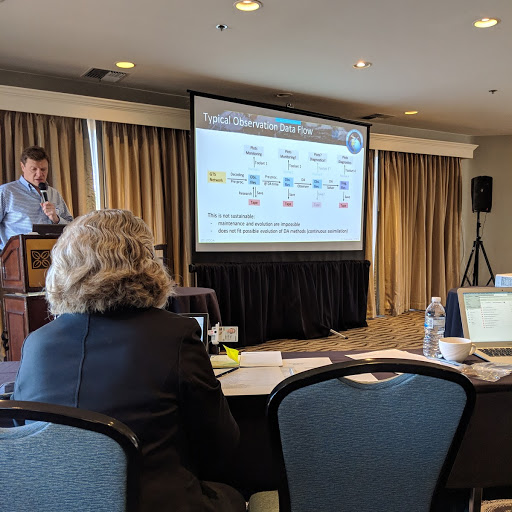 Dr. Yannick Trémolet presenting at the 2019 IODA Workshop in Monterey, CA from February 11 - 13th.