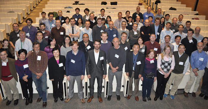 Group Photo: 3rd Joint JCSDA-ECMWF Workshop on Assimilating Satellite Observations of Clouds and Precipitation into NWP Models