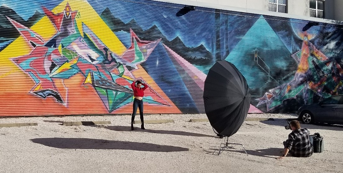 Current photo taken in St. Petersburgh, FL. Why Have a Mural Festival image by    @chorboogie    for    @urban.art.museum   .