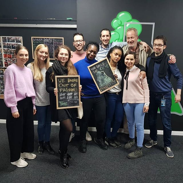 Big thanks to @pinterest for coming down. Two escapes from The Purge and Prison Break Book your corporate event now at www.endgame.ie  #escaperoom #dublin