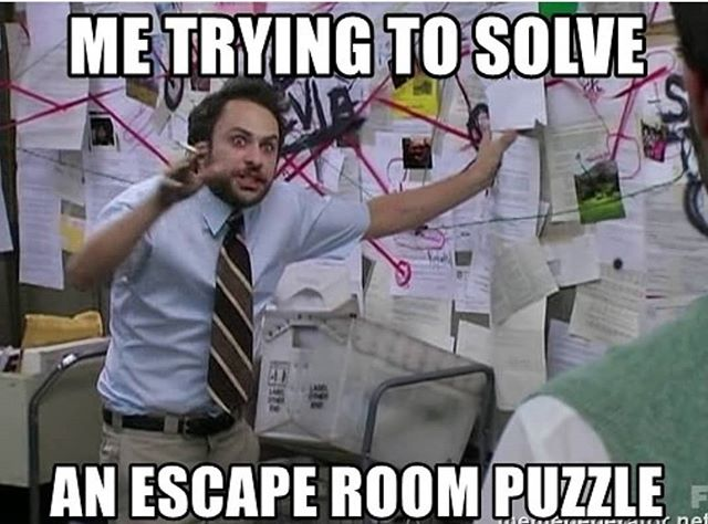 """It's all logic based"" 👀 #escaperoom #dublin"