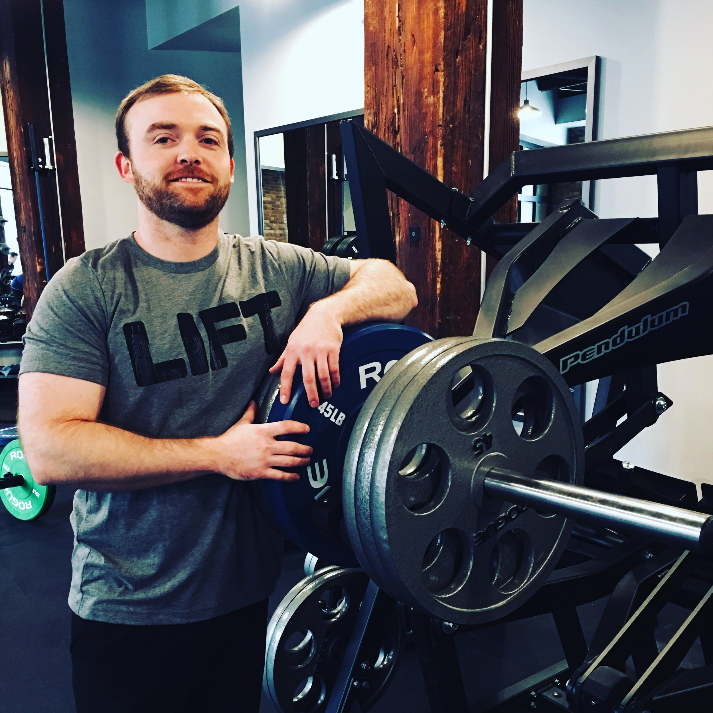 Kyle Slaven - Strength Coach - My passion for strength training started in high school. My dad had acquired some old equipment from the Ball State University weight room and introduced me to weight lifting. I immediately fell in love with the mental and physical feeling of putting in hard work and seeing the numbers start to go up. After high school sports were done, my passion with strength training continued into college. At Ball State, I studied exercise science with a focus on health and fitness. I spent some time in the Olympic weight room at Ball State as well. After college, I came to Chicago to wrap up my undergrad. I have spent the last 5+ years training clients and I love seeing clients come in and get better every time they train. To see clients get stronger, stay in good health, and achieve their goals are what continues to drive me every single day.