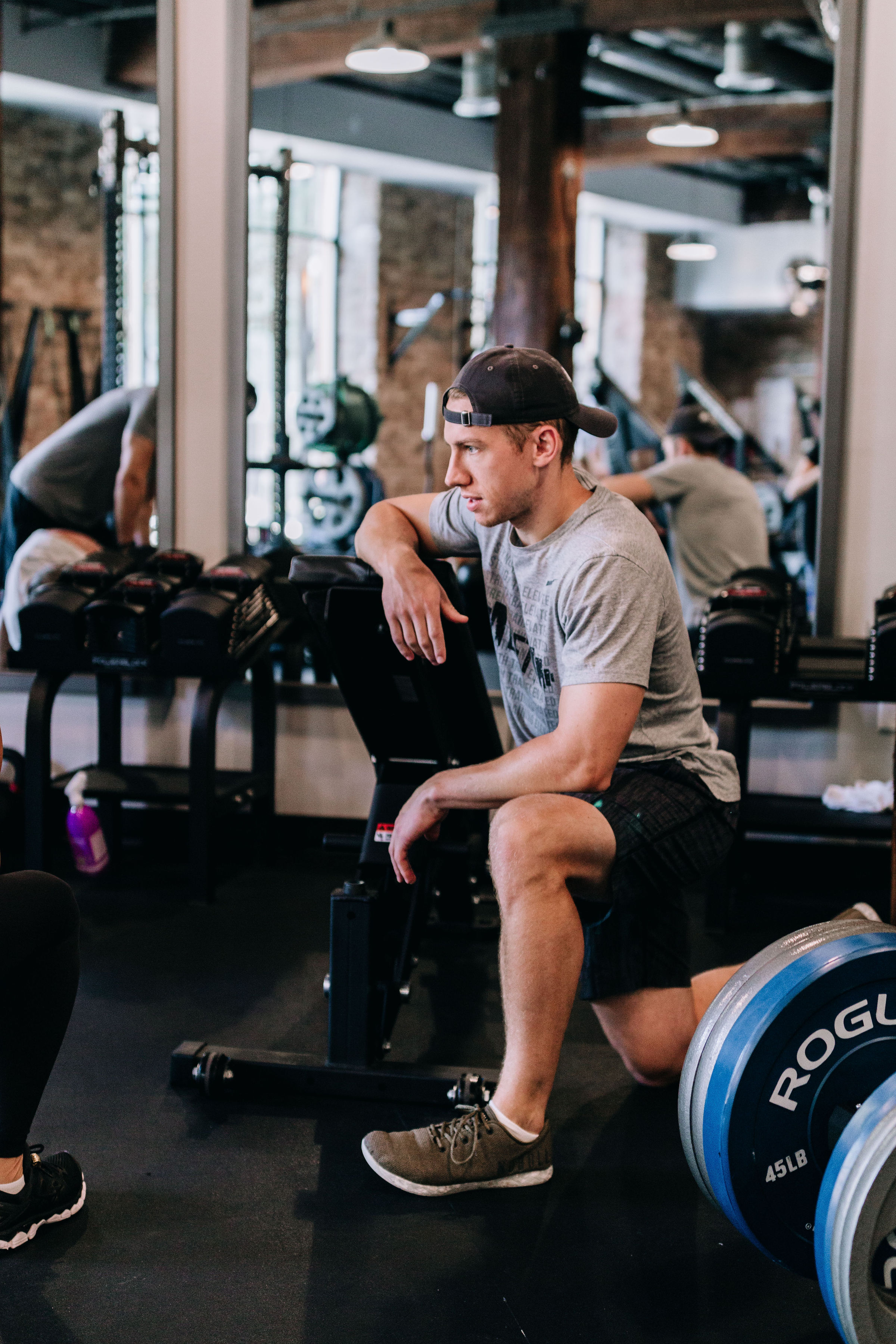 """Chad Driscoll - Owner/Strength Coach - After receviing my B.S. in Kinesiology from Illinois, I didn't really know what the hell i wanted to do. I love exercise and Strength Training, and after completing an internship with the Maryland Terrapins Football team I was ready to turn my passion into a career. I am beyond excited to apply my skills to help every day people get strong, remain healthy, and achieve their fitness goals.My fitness truth: """"No one ever complained about being strong."""""""