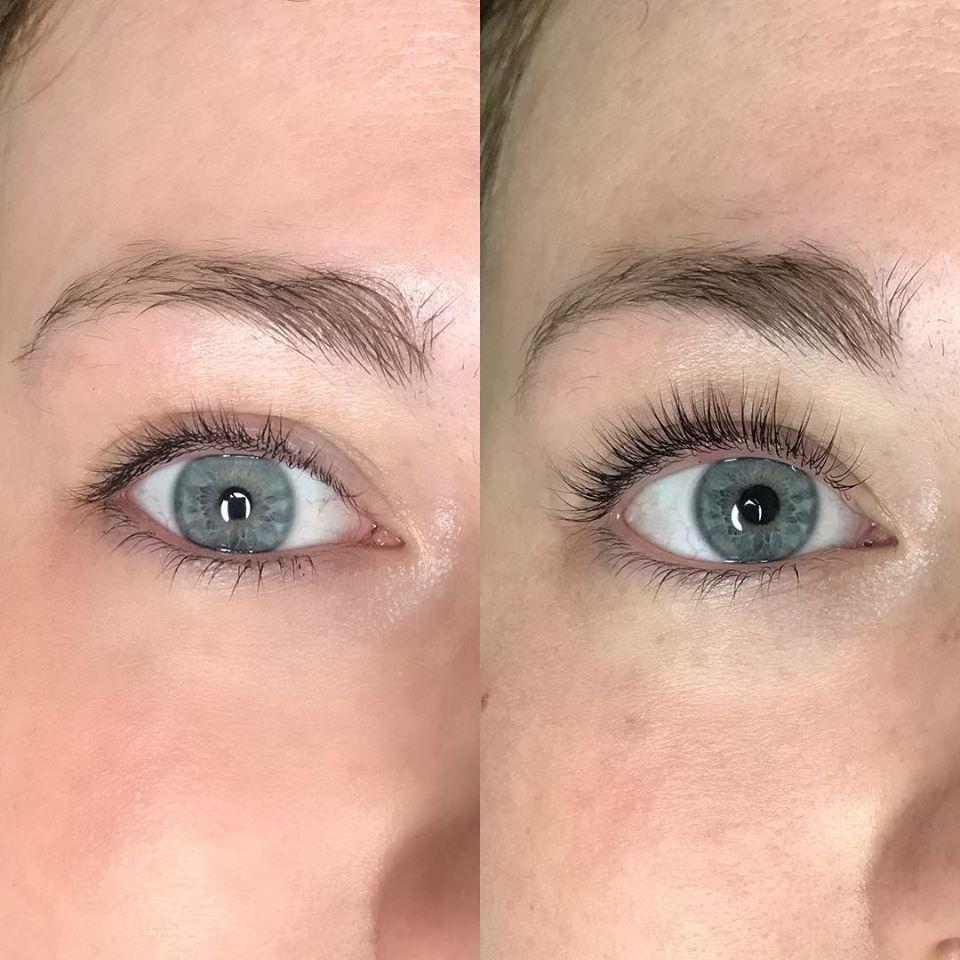 Eyelash Lift & Tint Application