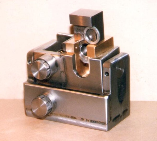A welded and machined prototype assembly for a customer.