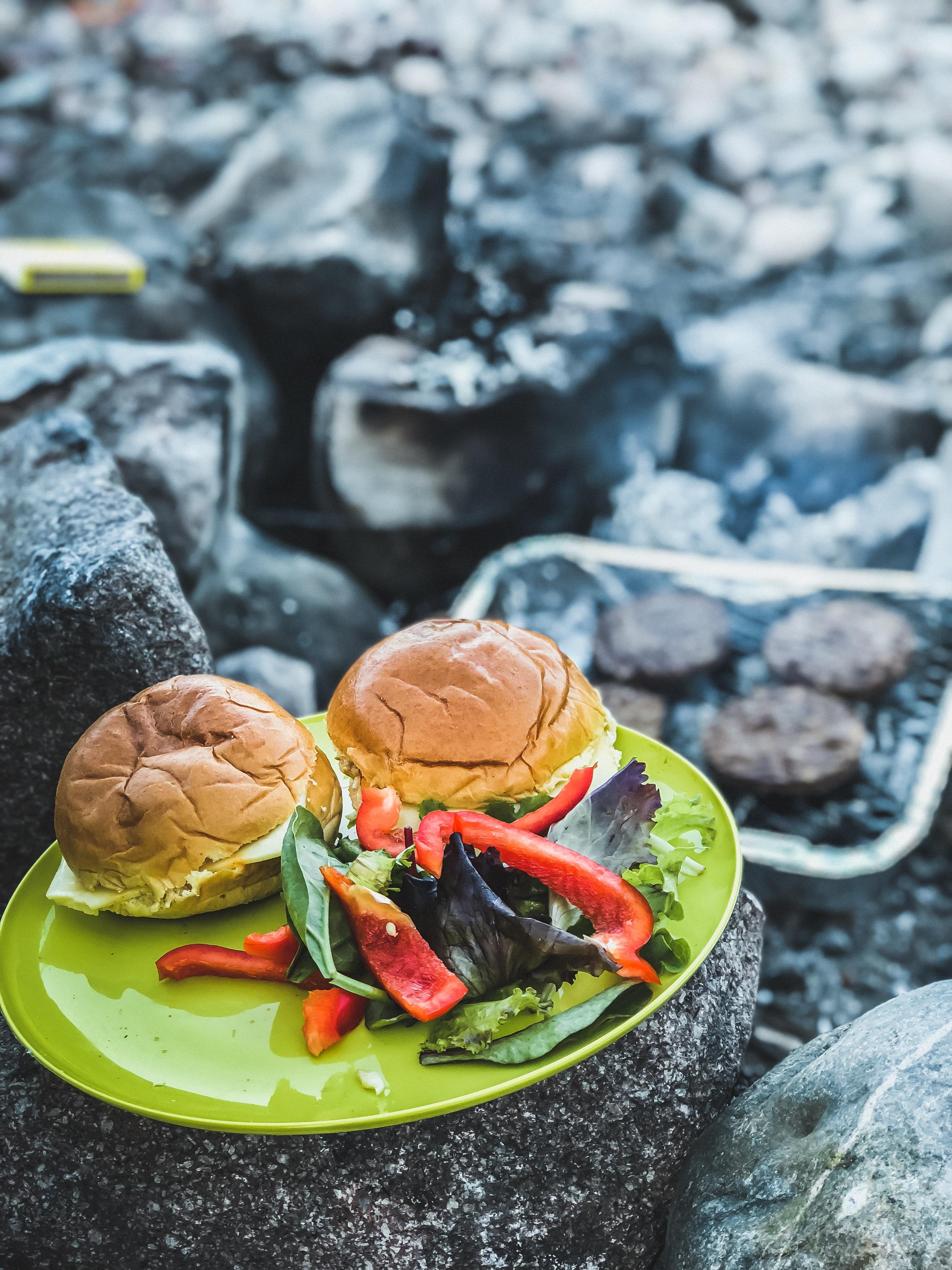 Yummy veggie burgers