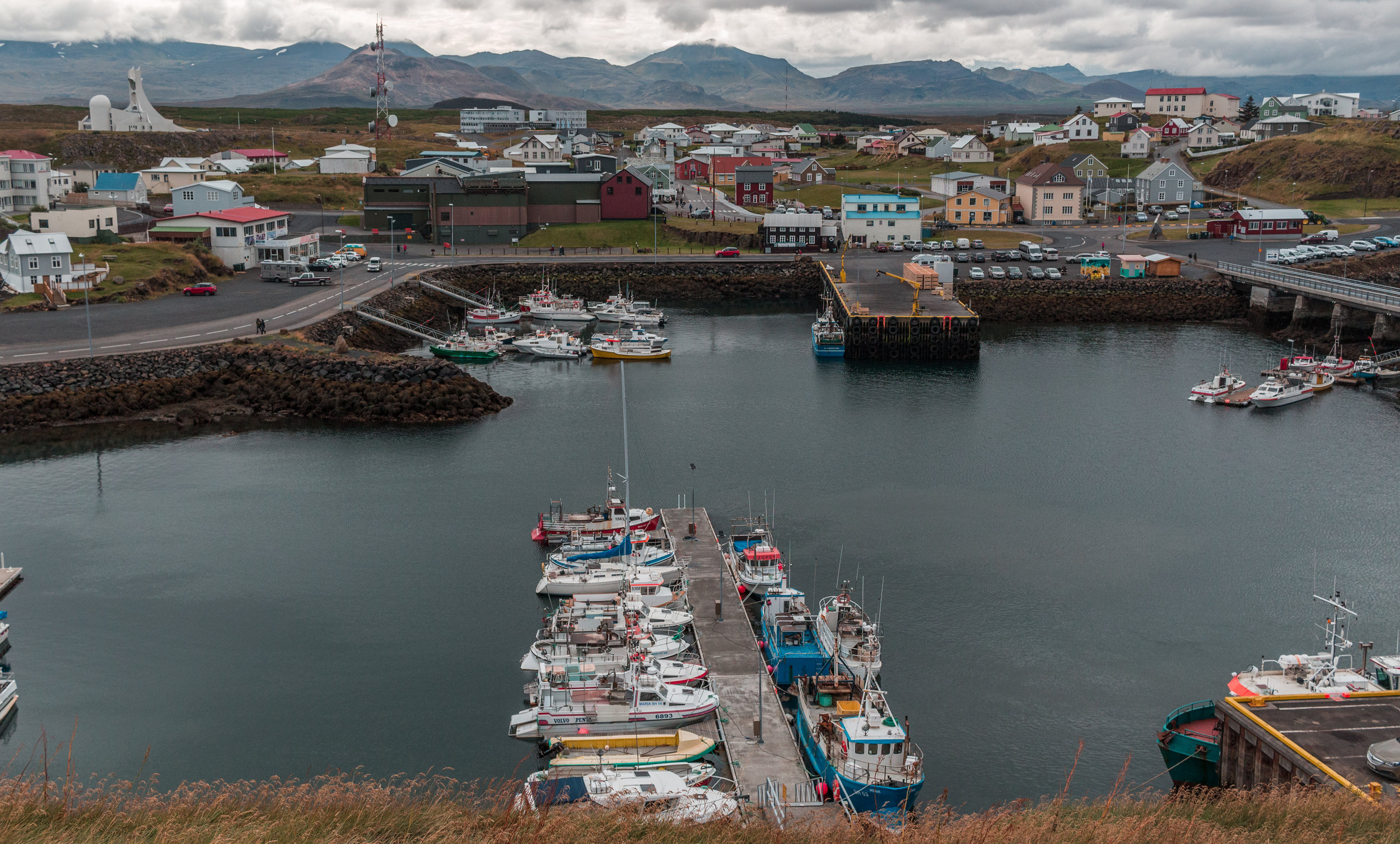 Stykkishólmur - a small fishing town