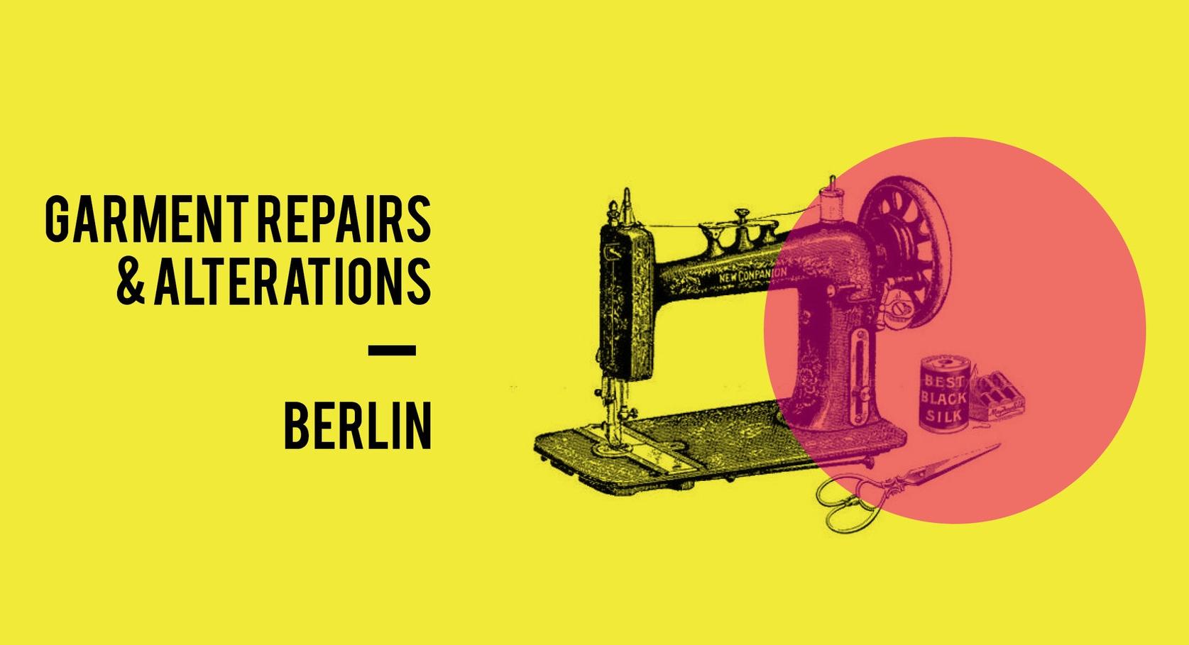 Get in touch on Facebook… - @garmentrepairsberlin