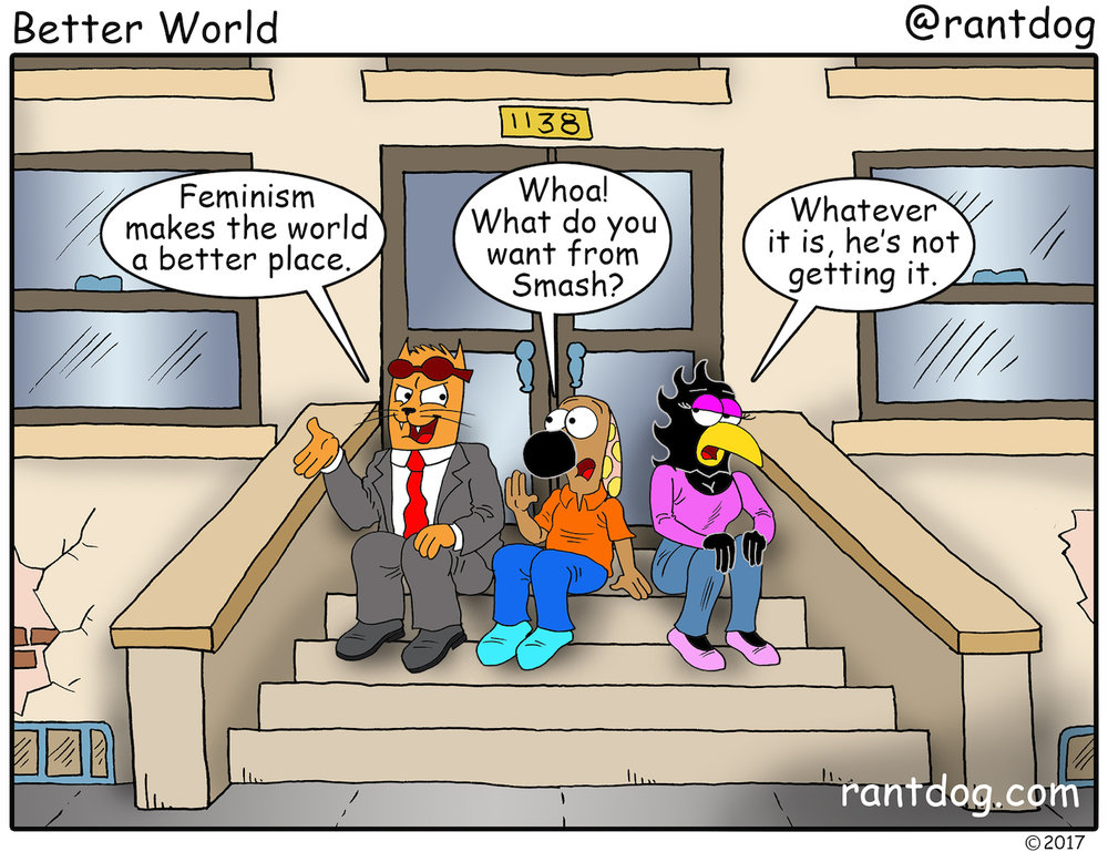 Copy of Rantdog Comics Feminism