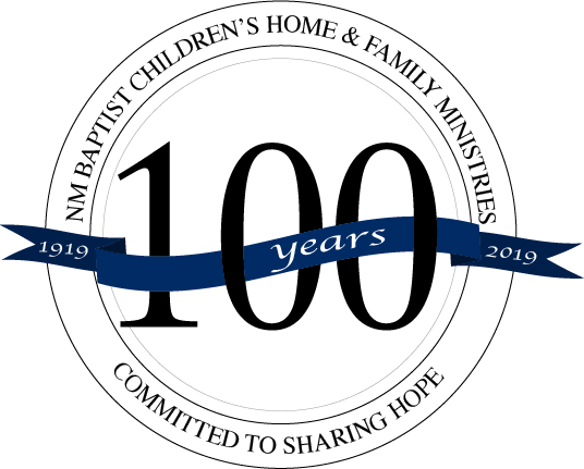 October 23, 2019 - Please join us as we celebrate 100 years of sharing hope. The Baptist Convention of New Mexico will hold their last sessions of the 2019 Annual State Meeting on the campus of New Mexico Baptist Children's Home & Family Ministries, October 23, 2019. Lunch will be served following the last session of the day. Please RSVP to save your seat for lunch on this special day.