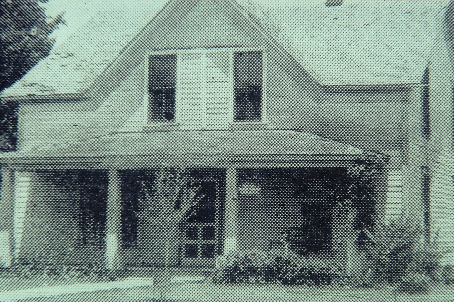 First home of the Baptist Orphan's Home in 1919