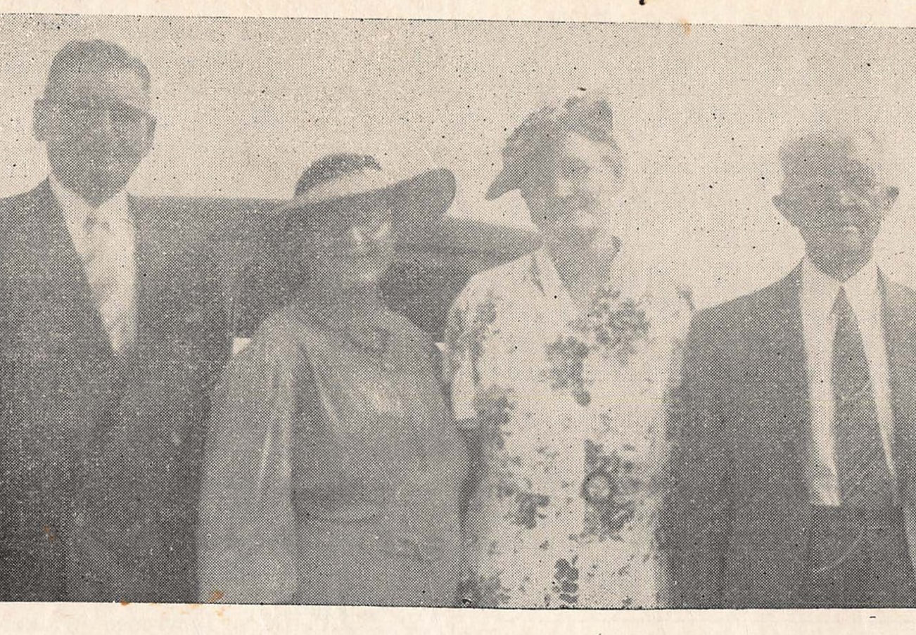 (Left to Right) WG MacArthur, Mrs. WG MacArthur, Mrs. WC Grant and WG Grant