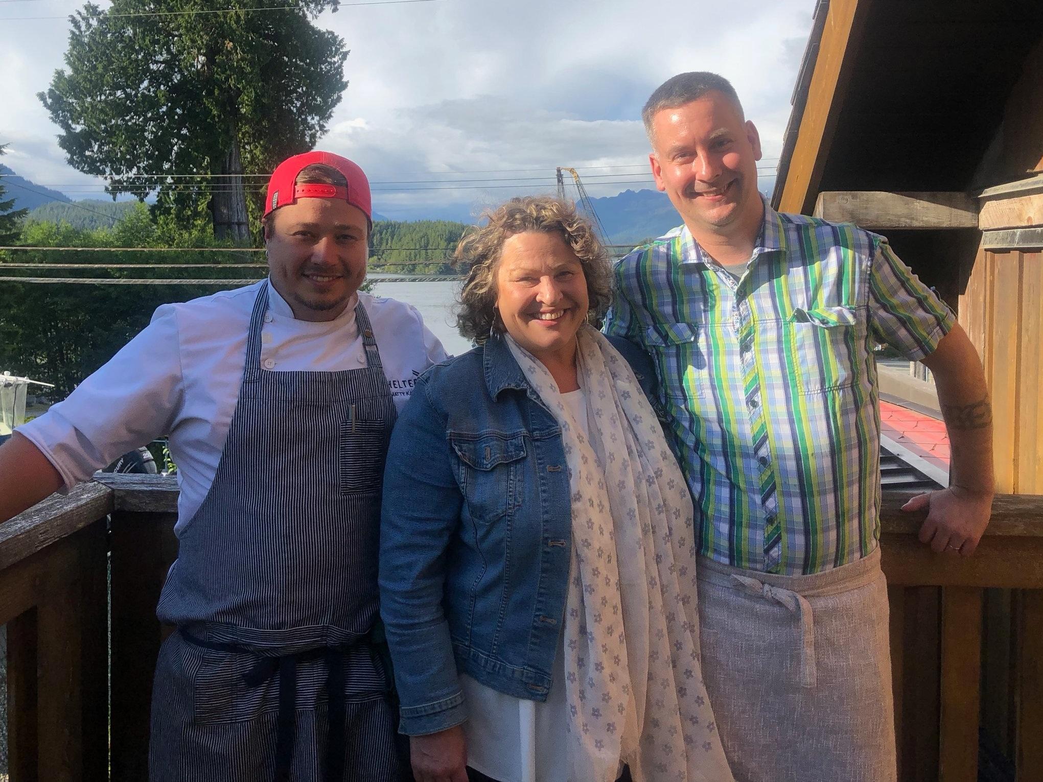 Our Island Chefs: Matty Kane, Lisa Ahier & Aaron Rail
