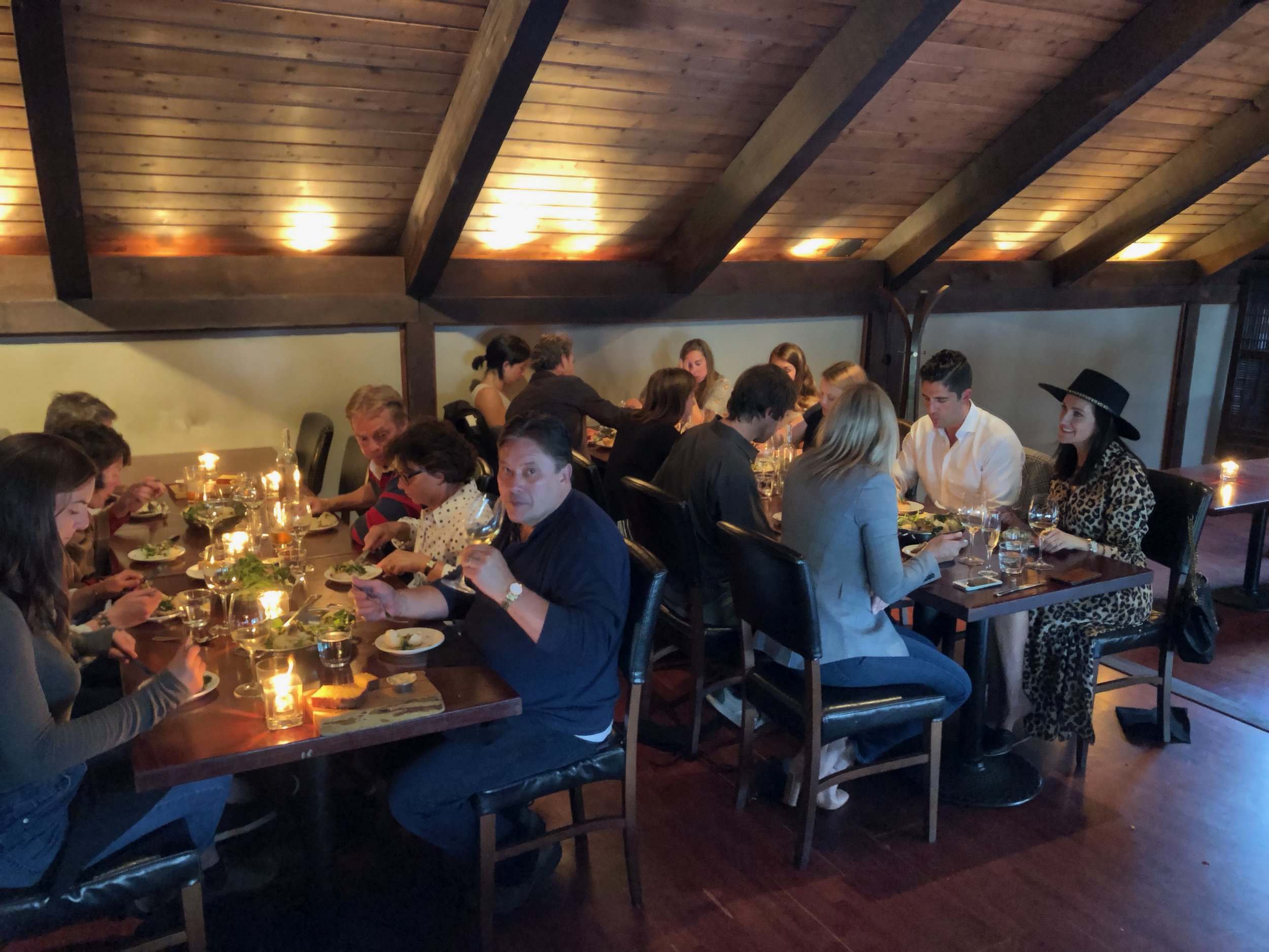 Four course dinner and book signing at Shelter Restaurant in Tofino BC.