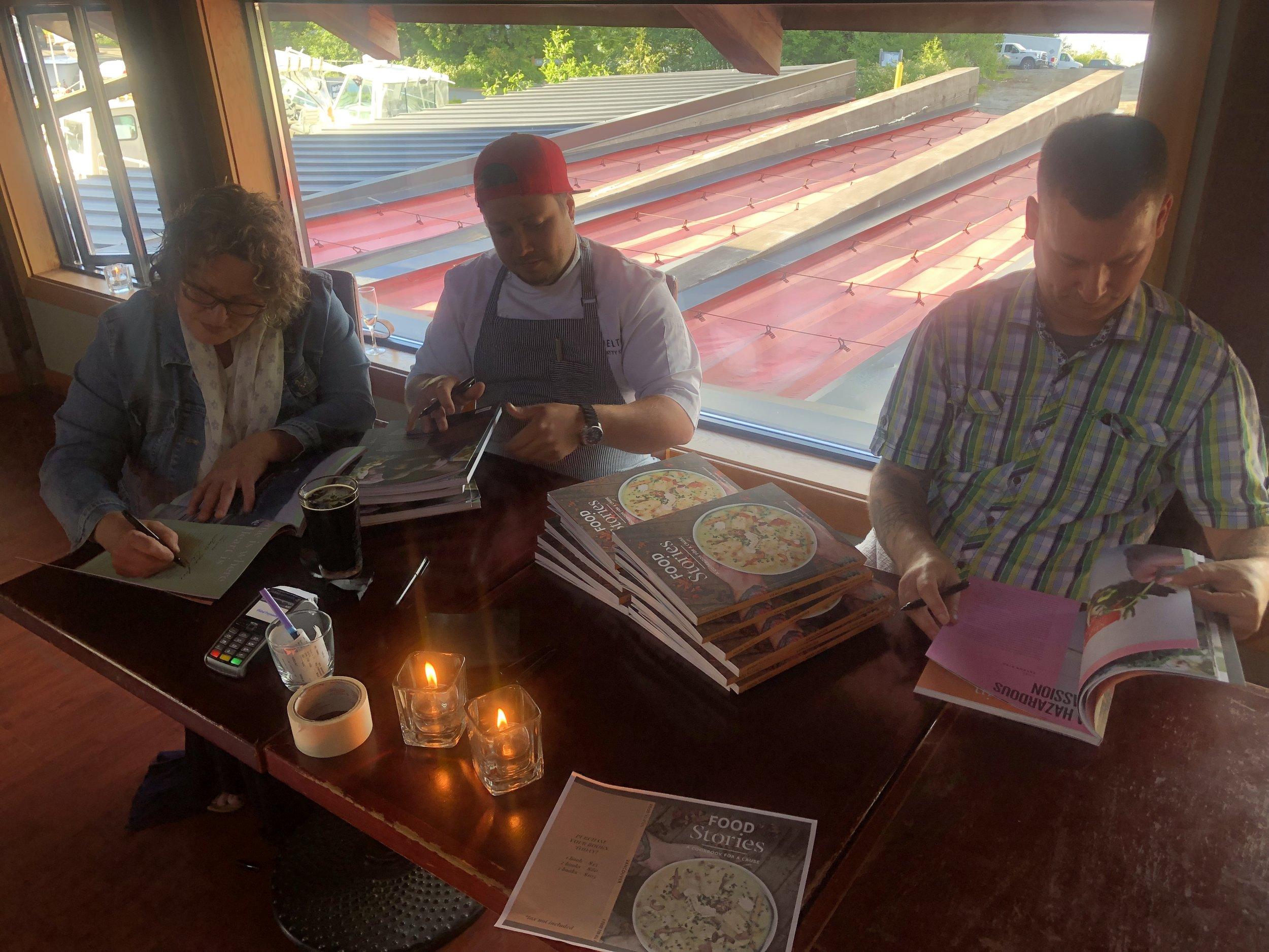 Book Signing with Lisa Ahier, Matty Kane & Aaron Rail