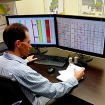 Geosciences - Openhole logs allowing full petrophysical interpretation in all well geometries.