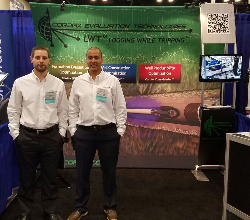 Canadian Sales Director Tyler Longeau and US Operations Manager Gustavo Murillo.