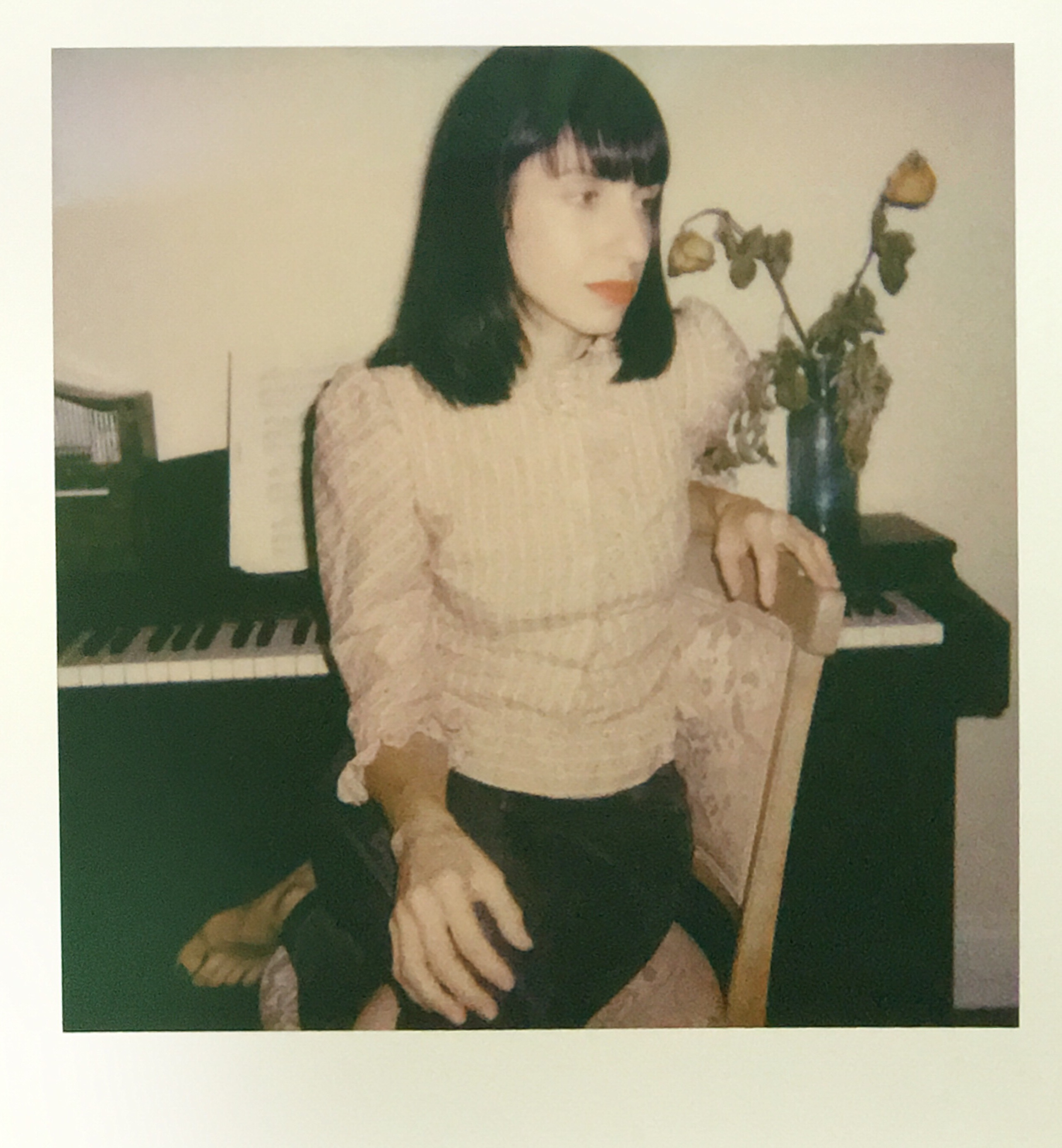 """about - elska is the narrator of cinematic lullabies and creation of Brooklyn-based Composer Laura Boland.  She represents love, optimism, conflict & awareness. """"My debut release is a collection of unrehearsed moments and happy accidents that unfold during my experimentation with sound. Acoustic and electronic motifs are layered and collaged with deconstructed samples and textures."""""""