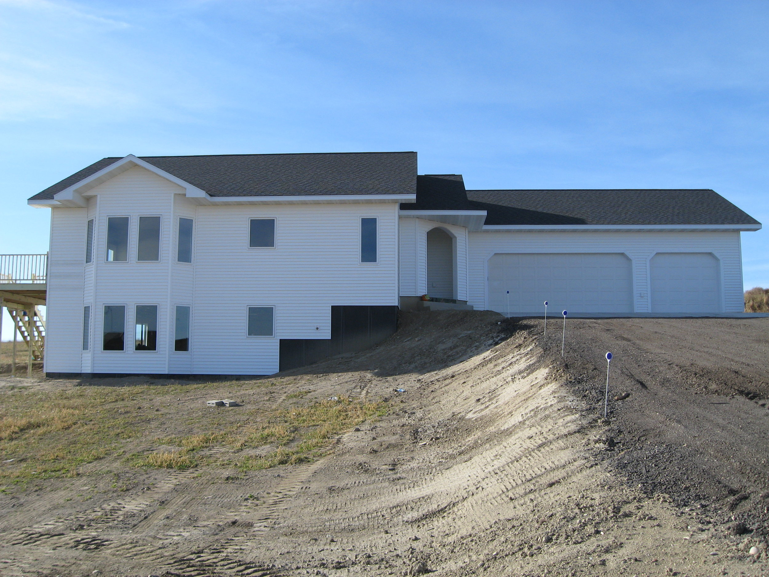 New home build with dufner construction as the general contractor
