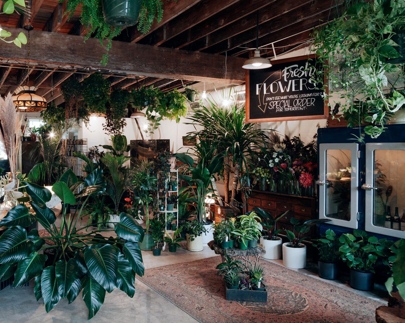 FLOWER STUDIO& PLANT SHOP - 1454 NE PRESCOTT STREETPORTLAND, OREGON 97211