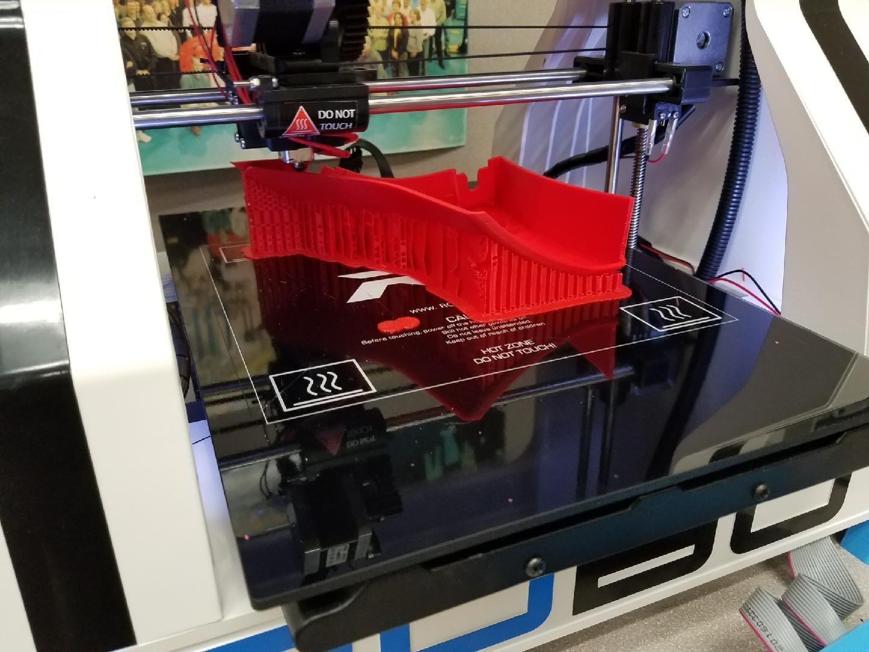 The Team using their printer -