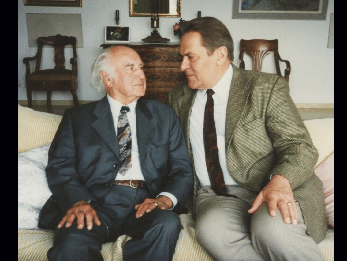 Dr. Albert Hoffman, who synthesized LSD, and Dr. Stanislav Grof, who pioneered its therapeutic use.