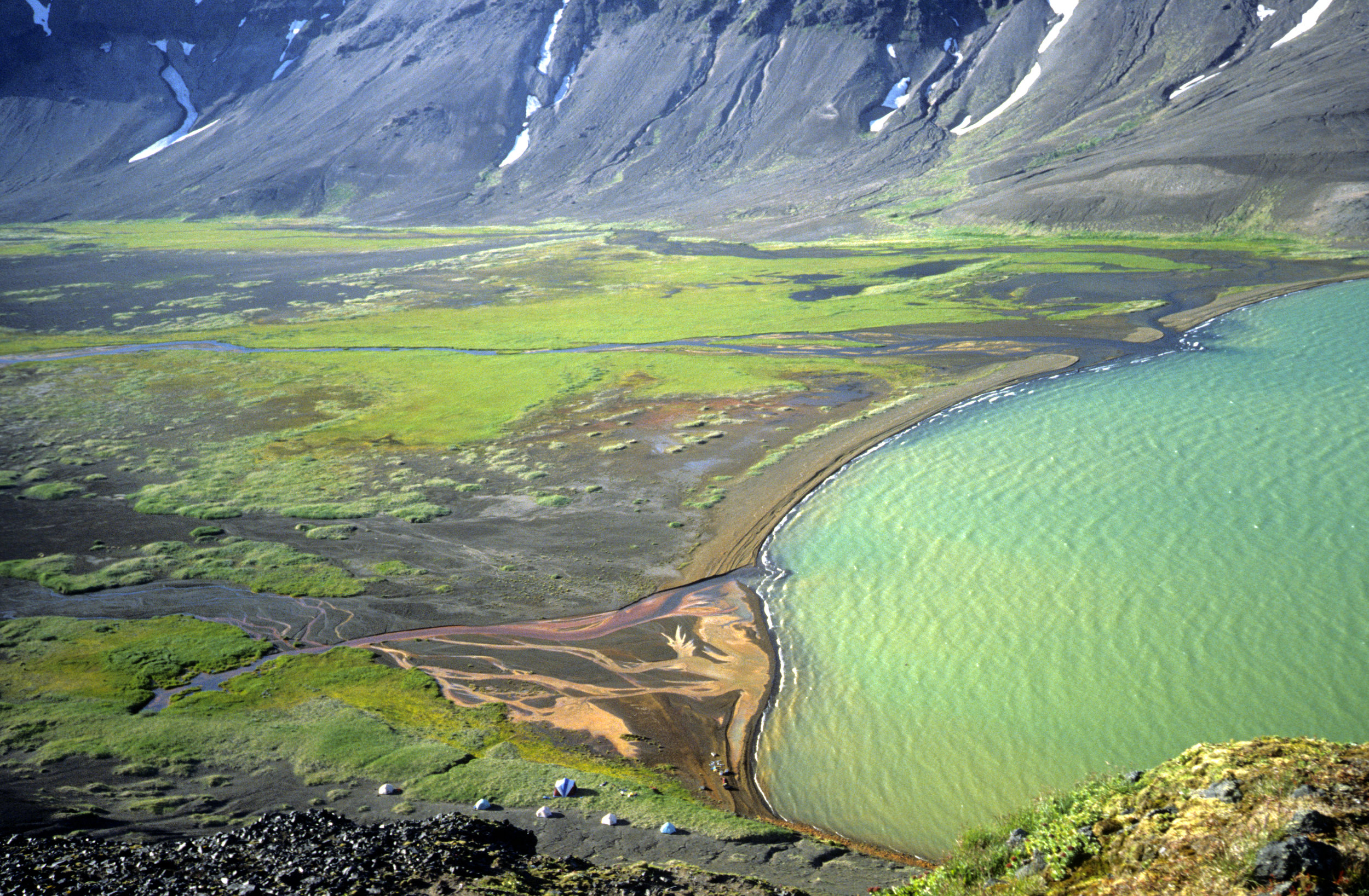 camp at the hotsprings in Aniakchak Crater.jpg