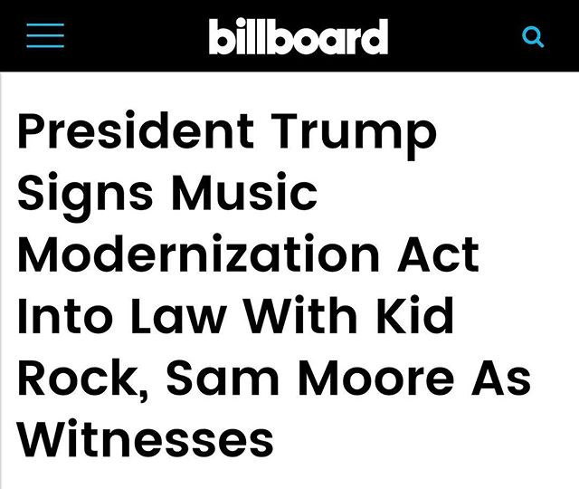 🙌🏽🙌🏽🙌🏽 This is much needed!! Hopefully it's the start for so many of us to receive what is due #Artists #Songwriters #Producers - link in bio #musicmodernizationact