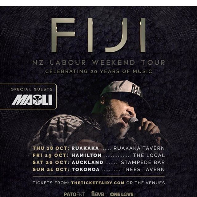 Aotearoa get you tix now 🙏🏾 @maolimusic @ipal77 #getyourtickets